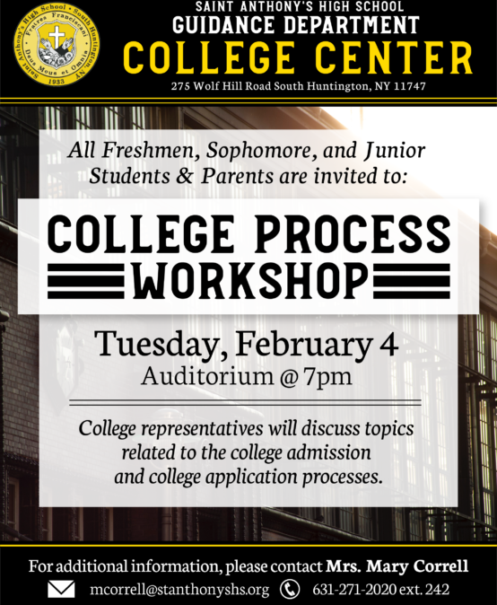 College Process Workshop
